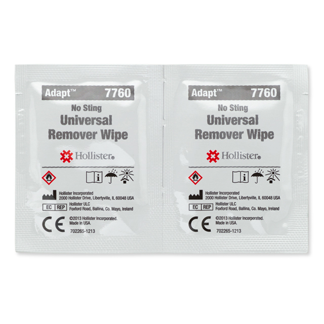 Hollister Incorporated Adapt universal adhesive remover wipes 7760